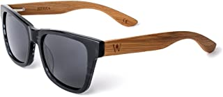081bea94cc WOODZEE Polarized Bamboo or Wood Sunglasses for Men or Women - Acetate  Shades