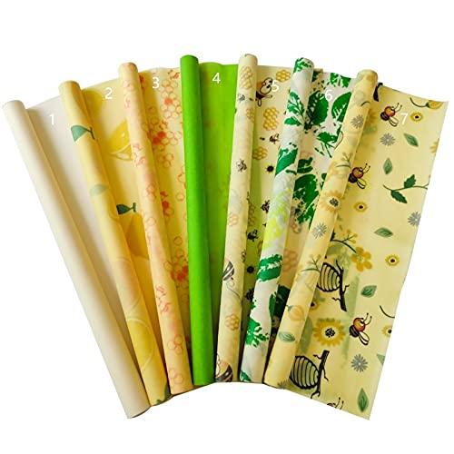 Beeswax alimento envolviendo papel reutilizable respetuoso con el medio ambiente comida envoltura de alimentos cero desperdicios frescos envoltura de alimentos envoltura de alimentos envases de alimen