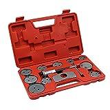 Hengyixing12 Unids/Set Pinza De Disco De Freno Automático Kit De Herramientas De Viento Trasero Herramientas De Reparación De Almohadilla De Bomba De Pistón De Freno De Precisión