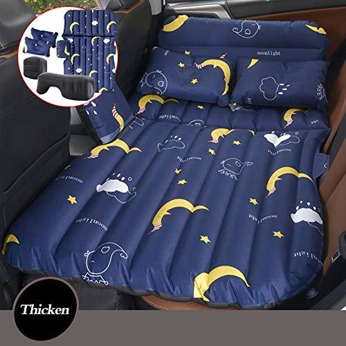HAOWEN Reisebett mit aufblasbarem Rücksitz, verlängerte Matratze, Universal-Autokissen, beflockt, Camping Luftbett für Kinder