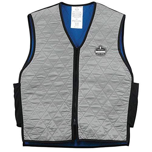 Ergodyne Chill-Its 6665 Evaporative Cooling Vest - Gray, Medium
