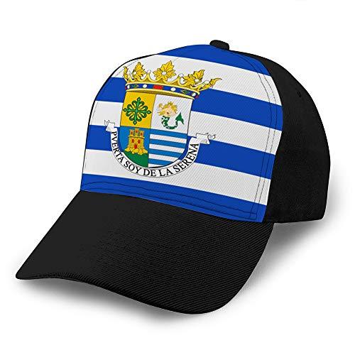 Gorra de béisbol Hip Hop Sombrero de ala Plana Ajustable Gorra de...