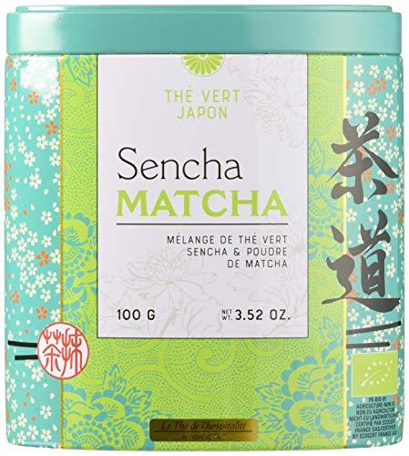 Terre d'Oc Thé de l'Hospitalité Vert Sencha Matcha Bio 100 g