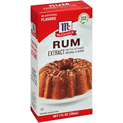 McCormick Rum Extract, 1 fl oz