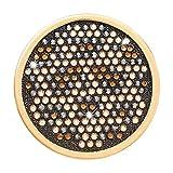 Nikki Lissoni Denim Dreams Spots Medium Gold Plated Coin C1535GM