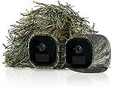 Arlo VMA4250-10000S Set Protectoras diseñadas para cámaras Go, Camuflaje, Kit de 2 fundas, Piezas