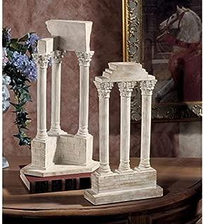Design Toscano Roman Forum Columns Set in Stone