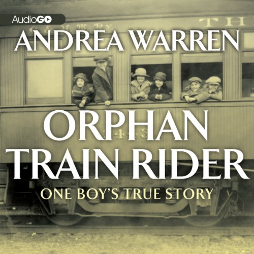 Orphan Train Rider audiobook cover art