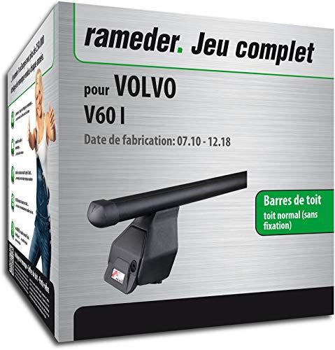 Rameder Pack Barres de Toit Tema pour Volvo V60 I (123590-09124-1-FR)