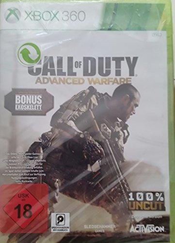 Call of Duty: Advanced Warfare Special Edition Bonus Exoskelett [Xbox 360] [Importación...