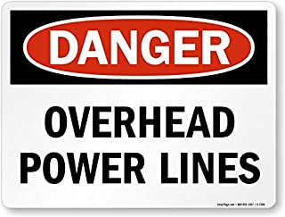 Best overhead power lines sign Reviews