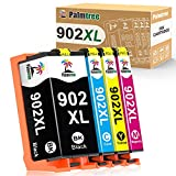 Palmtree Compatible Ink Cartridge Replacement for HP 902XL 902 XL Ink Cartridge to use with HP Officejet Pro 6978 6968 6962 6958 6970 HP 902 Ink Cartridge Printers (4 Packs)