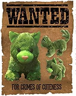 Cryptid Cuties Cactus Cat Plushie Stuffed Toy