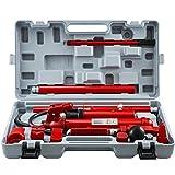 Mophorn 2.0M Porta Power Juego de Herramientas de Reparación de Gatos Hidráulicos Power Set Auto Tool 12 Ton Perfecto para Reparación de Carrocería, Reparación de Cuadros y Construcción