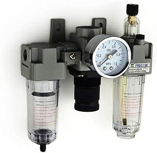 "Pneumaitc Filter Regulator Lubricator 1//2/"" NPT 40 Micron 22-123 psi"
