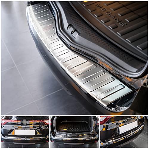 tuning-art L238 Edelstahl Ladekantenschutz für Renault Mégane Grandtour 4 2016-5 Jahre Garantie