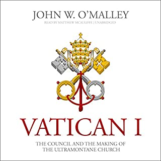 Vatican I audiobook cover art