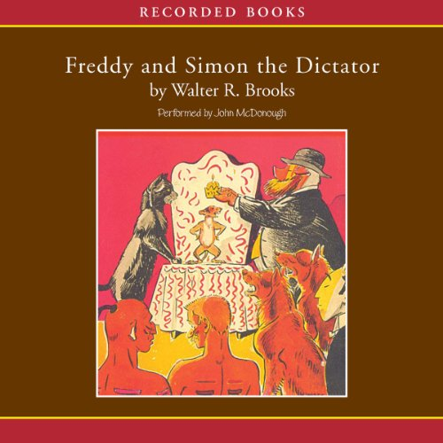 Freddy and Simon the Dictator audiobook cover art