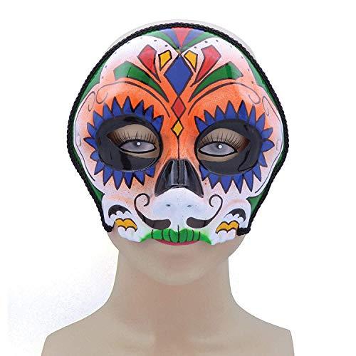 Sugar Skull Style, Pink Mix, Glasses Frame Mask, Halloween Fancy Dress, Accessory