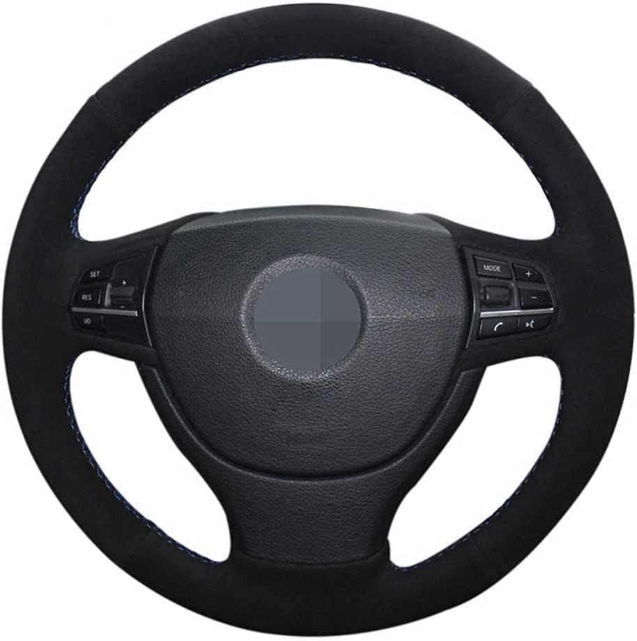 Wholesale SAXTZDS Hand-Stitched Suede Car Steering BM Popular Wheel for Cover Fit