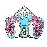 Spille Spilla Pin Brooch Gioco Smalto Pin Personalizzato Rosa Viola Nostalgico Gashapon Spille Borsa Vestiti Spilla Portatile Console di Gioco Distintivo Gioielli Regalo-GAZ_Mask