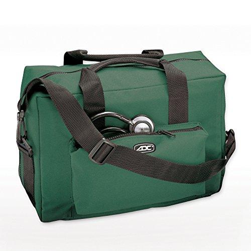ADC 1024 Nurse/Physician Nylon Medical Equipment Instrument Bag, Dark Green