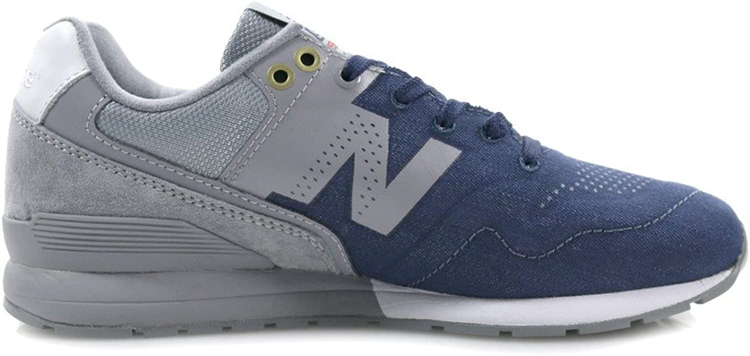 New Balance - D 12 - MRL996FT - color  Grey-Navy bluee - Size  8.5