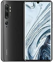"""Xiaomi Mi Note 10 Pro – Smartphone con Pantalla AMOLED curva 3D de 6,47"""" (5 Cámaras, principal 108 MP, 5260 mAh, Carga rápida 30W, Snapdragon 730G, NFC, 8+256 GB), Negro medianoche [Versión española]"""