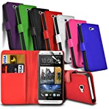 HTC Desire 310 Premium PU Leather Wallet Flip Skin Case