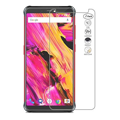 """HERCN Vernee V2 PRO 5.99"""" Vetro Temperato,Ultra Resistente 9H Durezza Pellicola Protettiva in Vetro Temperato per Vernee V2 PRO Smartphone (1 Pack)"""