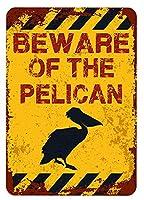 アメリカ雑貨 アメリカン雑貨 英語版 動物注意 ブリキ看板 警告コーギー 金属板 注意サイン情報 サイン金属 安全サイン 警告サイン 表示パネル (PELICAN)