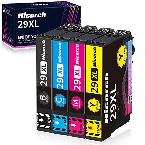 Hicorch 29XL Cartucce d'inchiostro per Epson 29 Multipack Compatibile con Epson Expression Home XP-235 XP-245 XP-247 XP-255 XP-257 XP-332 XP-342 XP-345 XP-432 XP-435 XP-442 XP-445 XP-452 XP-455