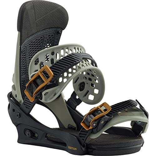 Burton Malavita Snowboard Bindings 2020 (Dark Grey,M)