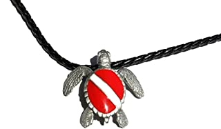 scuba diving necklace jewelry