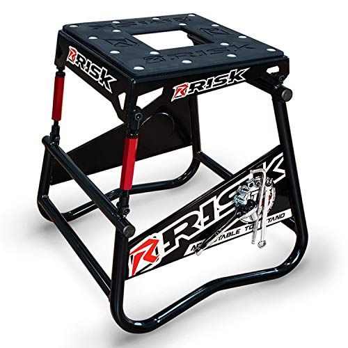 RISK Racing 00381 ATS Adjustable Top Magnetic Motocross/Dirt Bike Stand