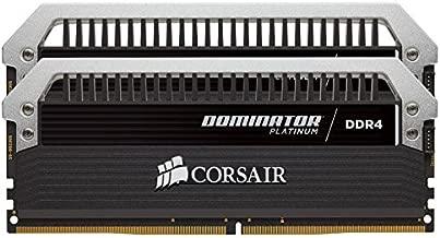 CORSAIR DOMINATOR Platinum Series 32GB (2 x 16GB) DDR4 DRAM 3000MHz C15 memory kit  (CMD32GX4M2B3000C15)
