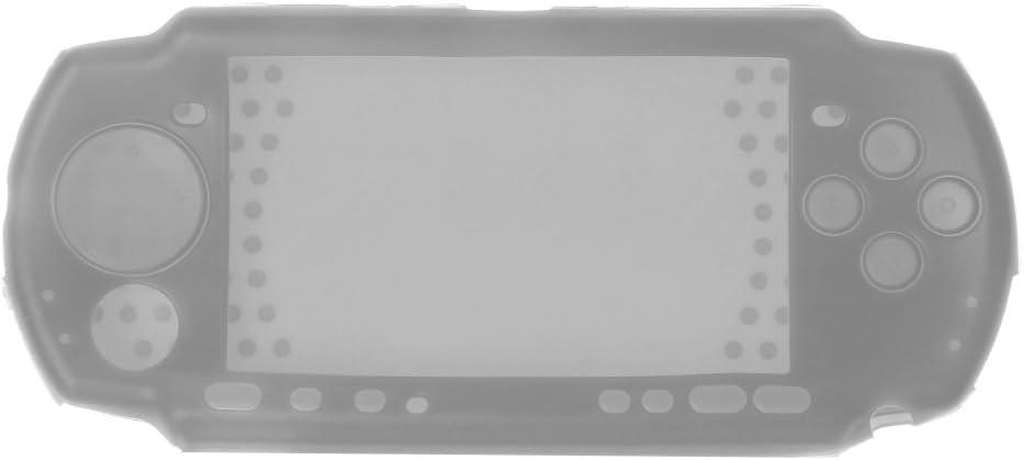 Junlinto Funda Protectora Suave de Silicona para el Cuerpo para la Consola PSP 2000 3000 R