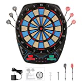 Best Electronic Dart Boards - OLI Electronic Dart Board with 12 Soft Tip Review