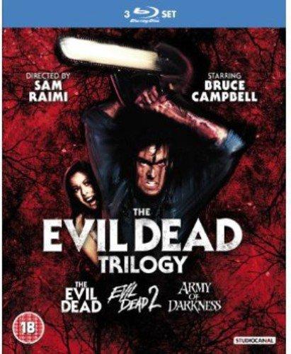 Evil Dead Trilogy (3 Blu-Ray) [Edizione: Regno Unito] [Reino Unido] [Blu-ray]