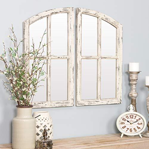 Aspire 6138 Wall Mirror, White (59% Off)