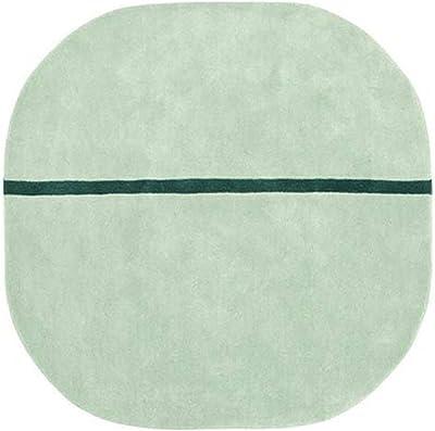 Normann Copenhagen Oona Tapis de Protection, Vert Menthe, 140 x 140 x 2 cm