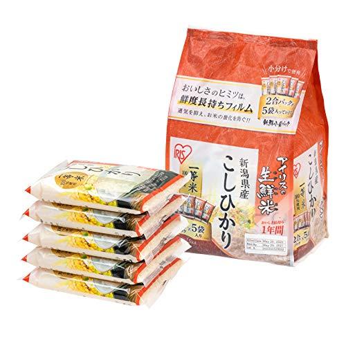 IRIS OHYAMA Koshihikari from Niigata, Japanese Premium Short Grain White Rice, Product of Japan, 3 lbs.