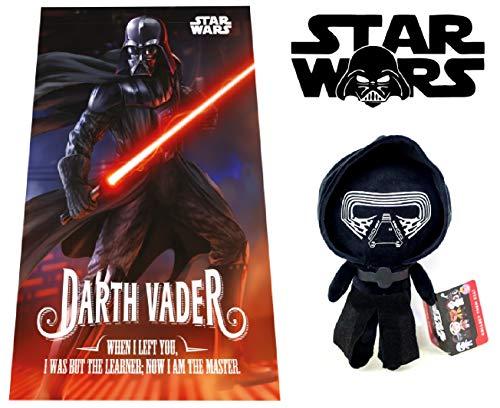 Dark Vador peluche + Manta Polar Star Wars