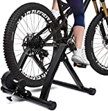 Hammer Cubierta de Bicicleta de Ejercicios, 6 Velocidad Resistencia Magnética Bicicletas Entrenador del Camino MTB Rodillos Ciclistas Rodillo, Soporte magnético Ejercicio de Bicicleta con la Rueda de