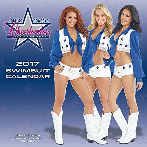 "Turner Licensing 2017 Dallas Cowboys Cheerleaders Wall Calendar, 15""X15"" (17998030011)"