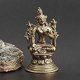 LPQA Escultura Decoración Estatuas Figuritas Artesanía Y Muebles para El Hogar Estatua Blanca De La Madre Buda De Tara