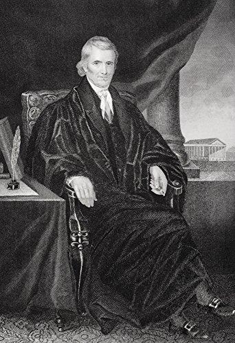 Posterazzi John Marshall 1755-1835 Poster Print by Alonzo Chappel, (12 x 17)