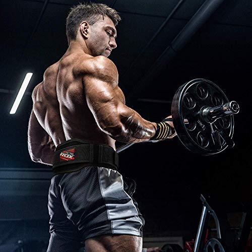 Authentische RDX Gewichthebergürtel Body Building Gym Fitness - 5