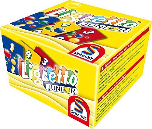 Ligretto Spiel Junior Kartenspiel Deckkartenspiele