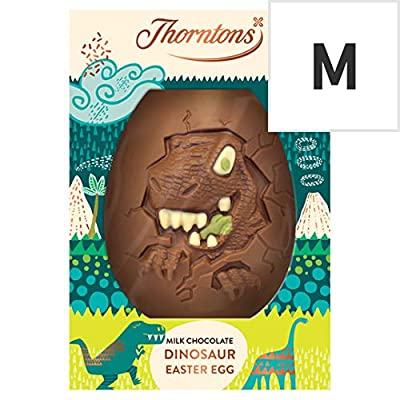 thorntons milk chocolate dinosaur easter egg 151g Thorntons Milk Chocolate Dinosaur Easter Egg, 151g 51ounEQHdjL